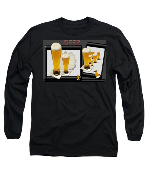Pub Art Yes Long Sleeve T-Shirt by Tina M Wenger