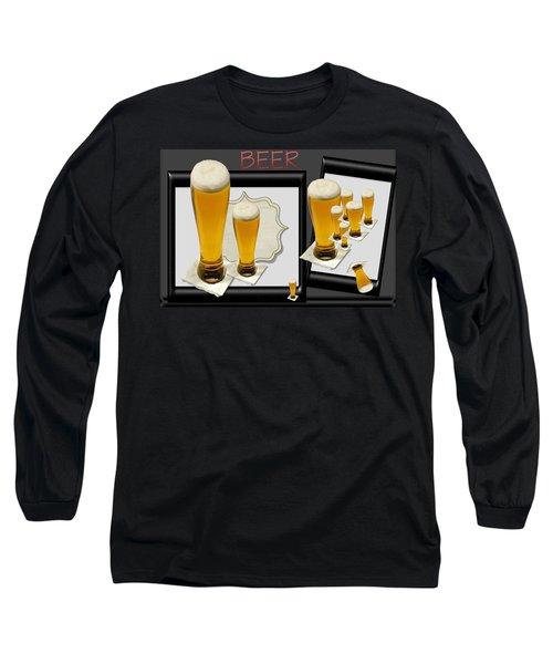 Pub Art Yes Long Sleeve T-Shirt