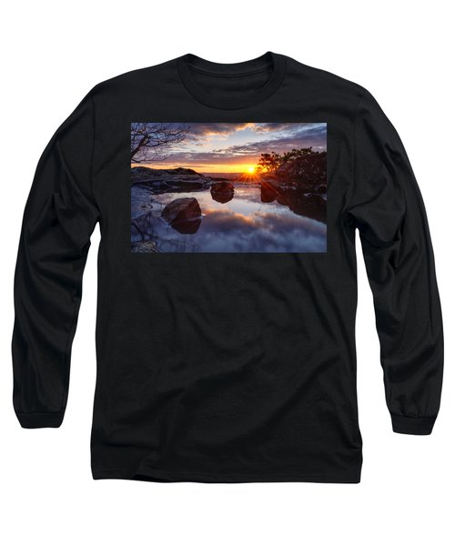 Puddle Paradise Long Sleeve T-Shirt by Craig Szymanski
