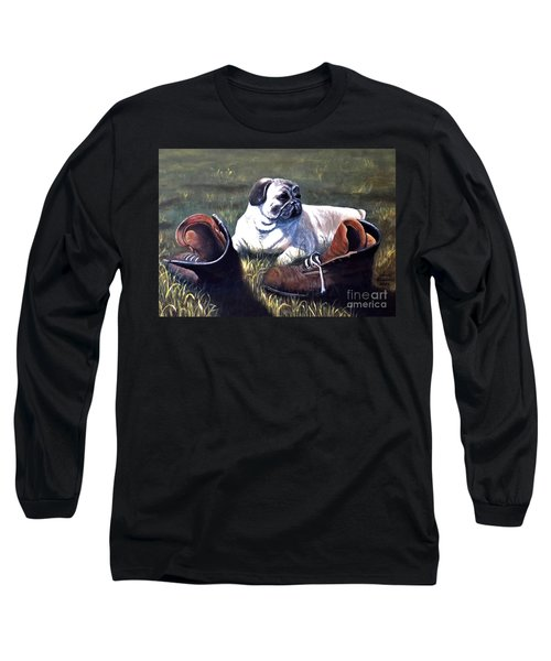 Pug And Boots Long Sleeve T-Shirt
