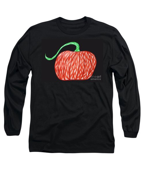 Pumpkin Long Sleeve T-Shirt by Jamie Lynn
