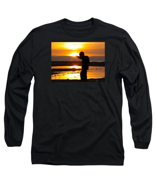 Punching The Sun Long Sleeve T-Shirt by RKAB Works