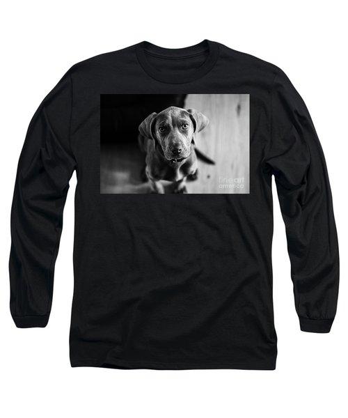 Puppy - Monochrome 1 Long Sleeve T-Shirt