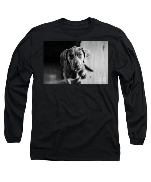 Puppy - Monochrome 1 Long Sleeve T-Shirt
