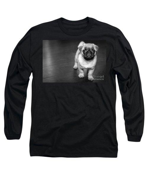 Puppy - Monochrome 2 Long Sleeve T-Shirt