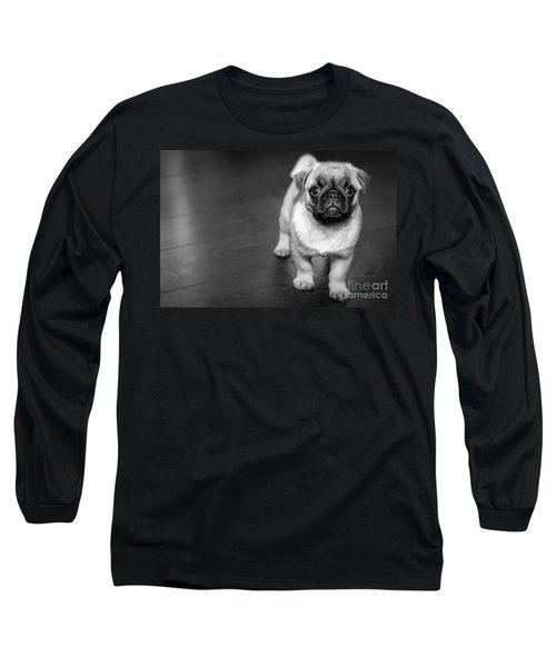 Puppy - Monochrome 2 Long Sleeve T-Shirt