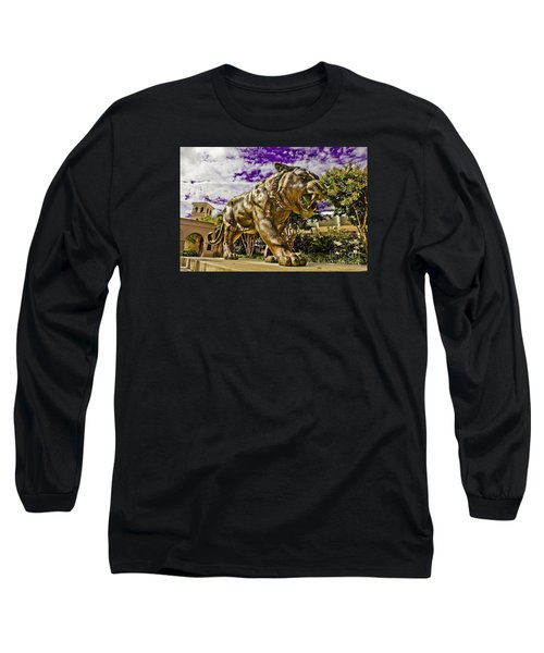 Purple And Gold Long Sleeve T-Shirt