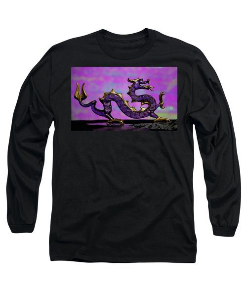 Purple Dragon Long Sleeve T-Shirt
