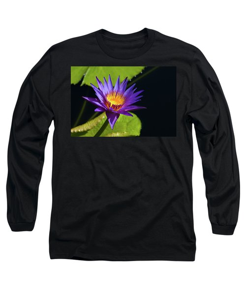 Long Sleeve T-Shirt featuring the photograph Purple Gold by Steve Stuller