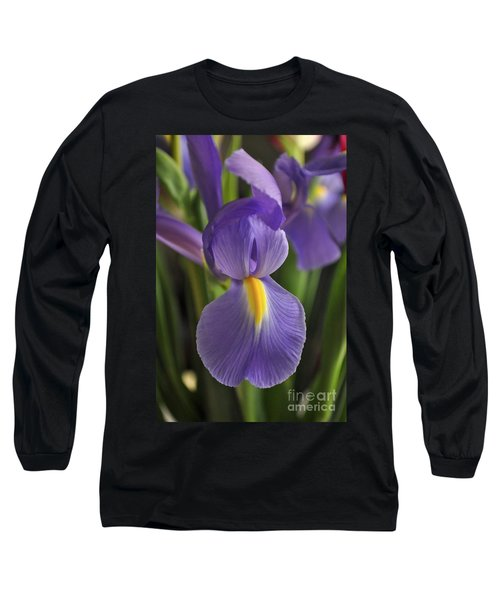 Purple Iris Long Sleeve T-Shirt