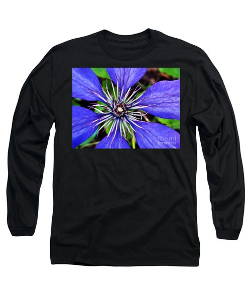 Purple Passion Long Sleeve T-Shirt by Christy Ricafrente
