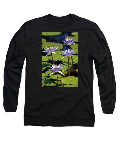 Purple Sparks Long Sleeve T-Shirt