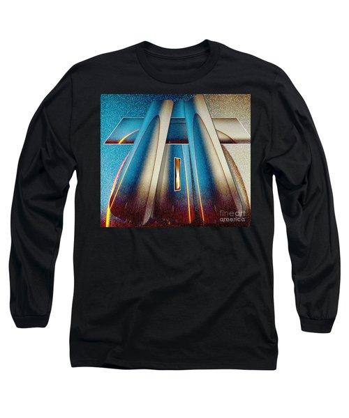 Pyramid Long Sleeve T-Shirt by Belinda Threeths