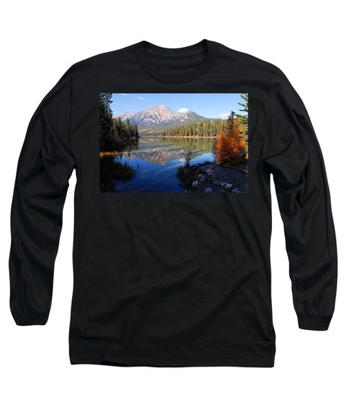 Pyramid Moutain Reflection Long Sleeve T-Shirt