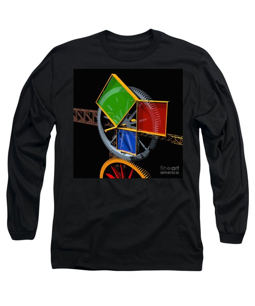 Pythagorean Machine Long Sleeve T-Shirt