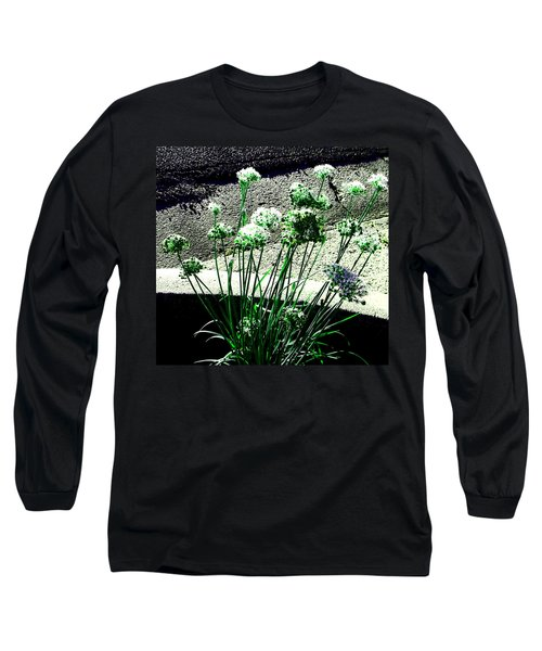 Long Sleeve T-Shirt featuring the photograph Queen Anne's Lace by Lenore Senior