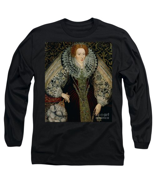 Queen Elizabeth I Long Sleeve T-Shirt by John the Younger Bettes