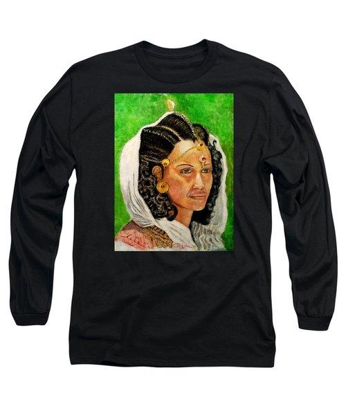 Queen Hephzibah  Long Sleeve T-Shirt by G Cuffia