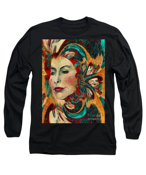 Queenie Long Sleeve T-Shirt by Alexis Rotella
