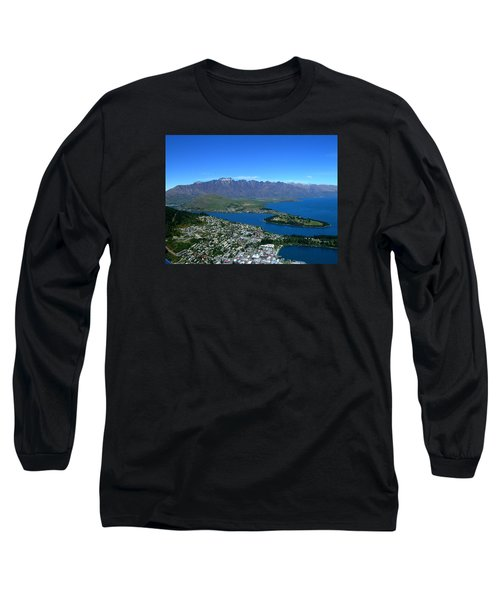 Queenstown New Zealand Long Sleeve T-Shirt