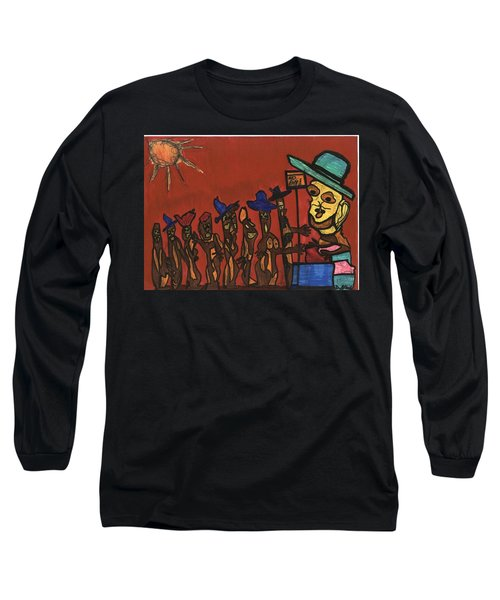 Queuing For Residuals  Long Sleeve T-Shirt