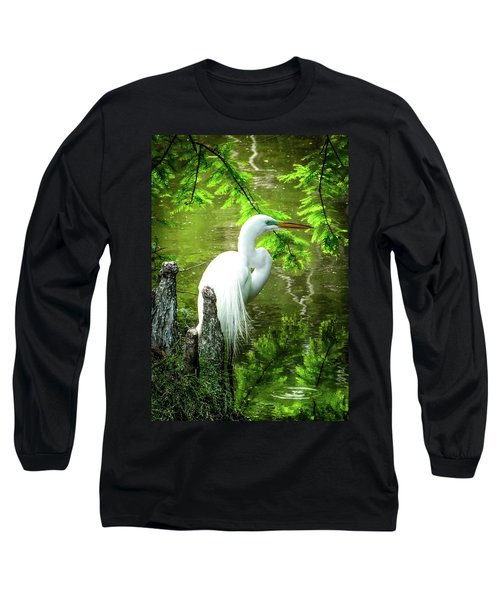 Quiet Moments Of Elegance Long Sleeve T-Shirt by Karen Wiles