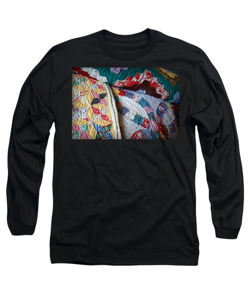 Quilted Comfort Long Sleeve T-Shirt
