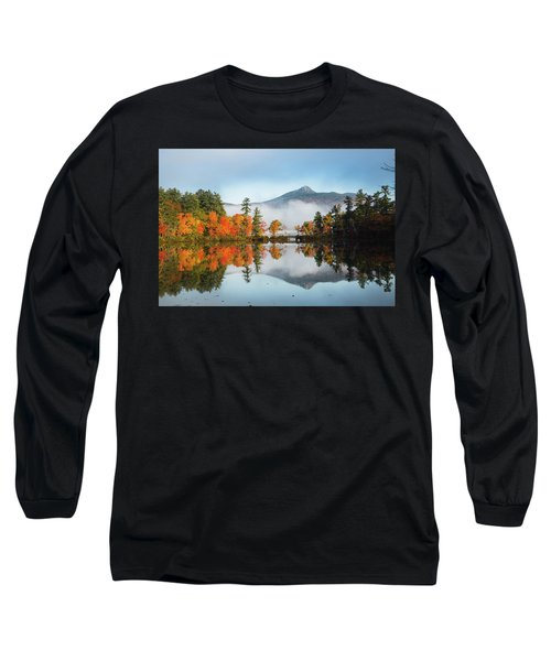 Mount Chocorua Fall Reflection Long Sleeve T-Shirt