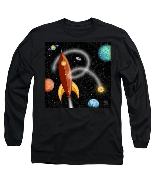 R Is For Rocket Long Sleeve T-Shirt
