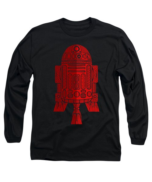 R2d2 - Star Wars Art - Red 2 Long Sleeve T-Shirt