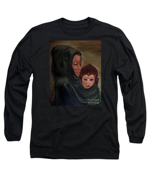 Rachel And Joseph Long Sleeve T-Shirt by Annemeet Hasidi- van der Leij