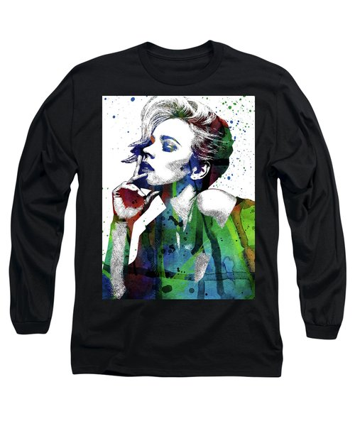 Rachel Mcadams Long Sleeve T-Shirt by Mihaela Pater