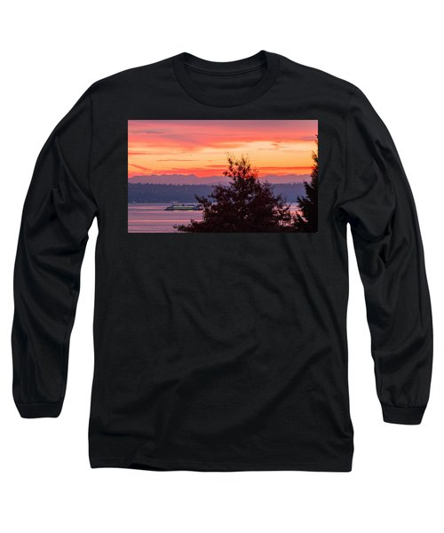 Long Sleeve T-Shirt featuring the photograph Radiance At Sunrise by E Faithe Lester