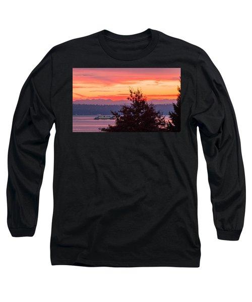 Radiance At Sunrise Long Sleeve T-Shirt
