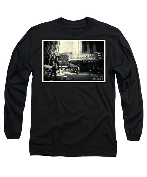 Radio City Music Hall Manhattan New York City Long Sleeve T-Shirt