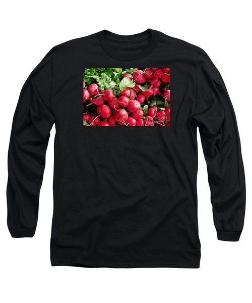 Long Sleeve T-Shirt featuring the digital art Radishes 1 by David Blank