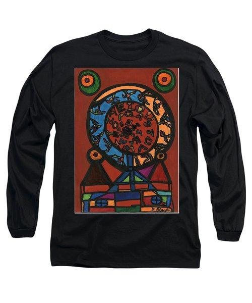 Raetsel Long Sleeve T-Shirt by Darrell Black