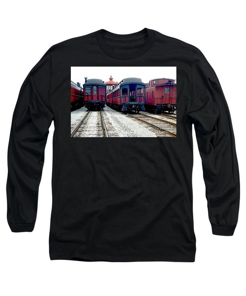 Long Sleeve T-Shirt featuring the photograph Rail Stock by Paul W Faust - Impressions of Light