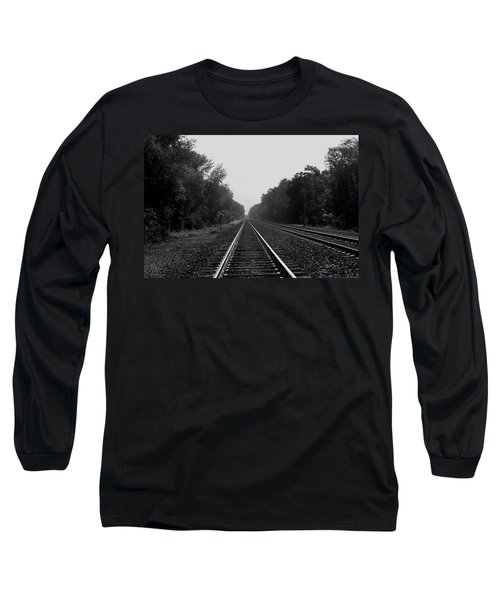 Railroad To Nowhere Long Sleeve T-Shirt