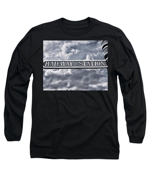 Railway Station Long Sleeve T-Shirt