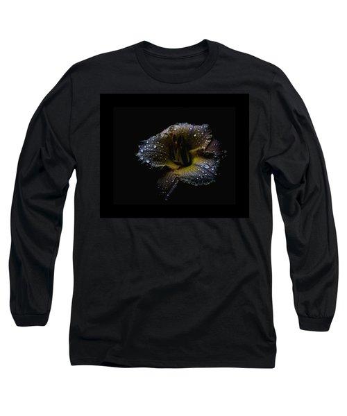 Rain Day Lily 3 Long Sleeve T-Shirt