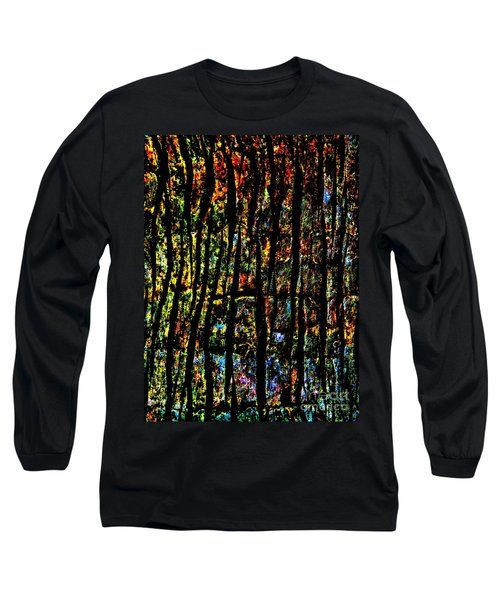 Rain Forest  Long Sleeve T-Shirt by Amar Sheow