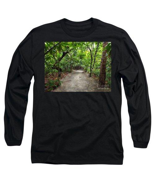 Rain Forest Road Long Sleeve T-Shirt