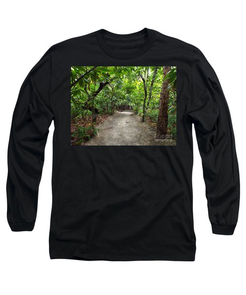 Rain Forest Road Long Sleeve T-Shirt