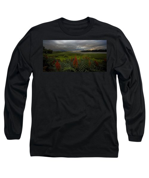 Rain Over The Mohawk Long Sleeve T-Shirt