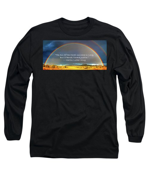 Martin Luther King - Justice Long Sleeve T-Shirt