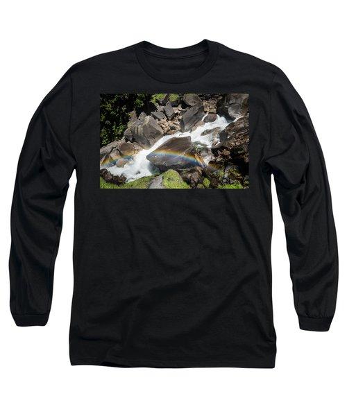 Rainbow At Vernal Falls- Long Sleeve T-Shirt