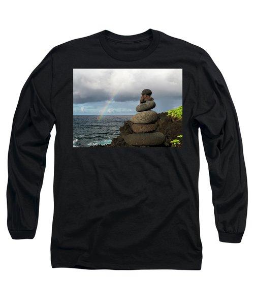 Rainbow Cairn Long Sleeve T-Shirt