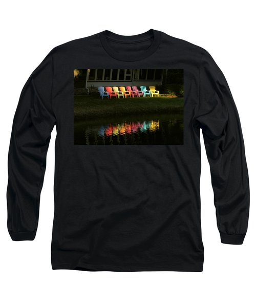 Rainbow Chairs  Long Sleeve T-Shirt
