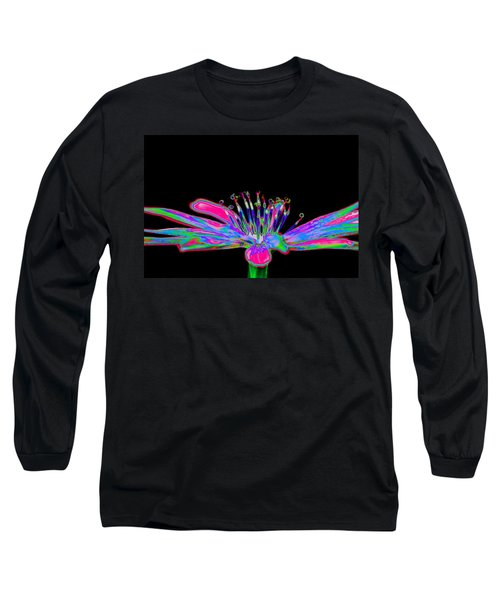 Rainbow Chicory Long Sleeve T-Shirt
